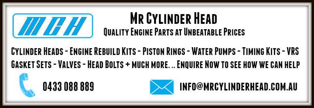 Mr Cylinder Head