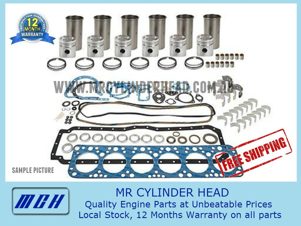 Nissan Patrol TD42T TD42Ti Turbo Diesel Full Engine Rebuild Kit with  Sleeves / Liners