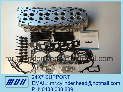 Nissan Patrol GU Navara D22 Cylinder Head Kit ZD30DDT ZD30DDTi VRS Head  Bolts - FREE POSTAGE