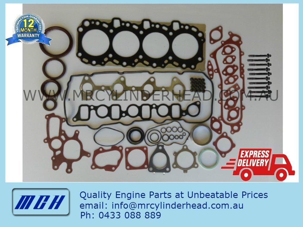 Toyota Prado Landcruiser Hilux 1KDftv full gasket set + head bolt kit  1KD-ftv 3 0L D4D