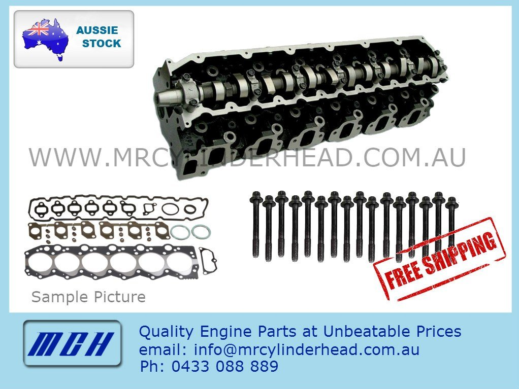 1HD-T COMPLETE Genuine cylinder head kit for Toyota Landcruiser Assembled  1HDT 12V HDJ80